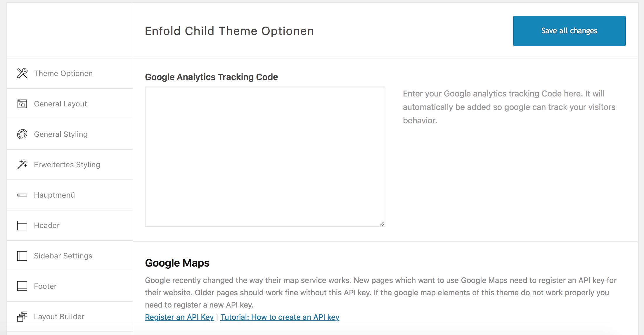 Google Analytics in WordPress Theme einbinden