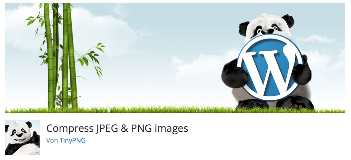 Compress JPEG & PNG images-Plugin