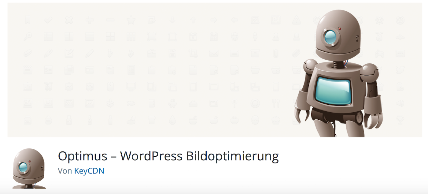 Optimus – WordPress Bildoptimierung