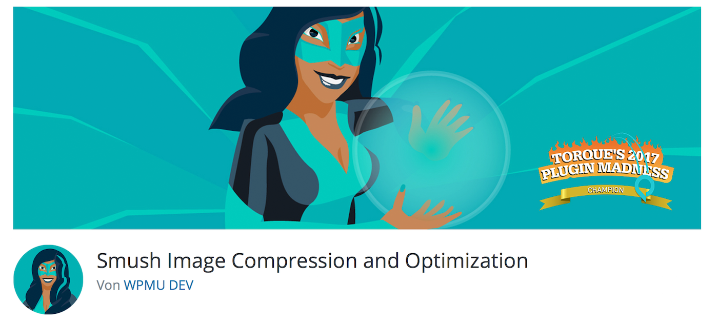 Smush Image Compression and Optimization-Plugin