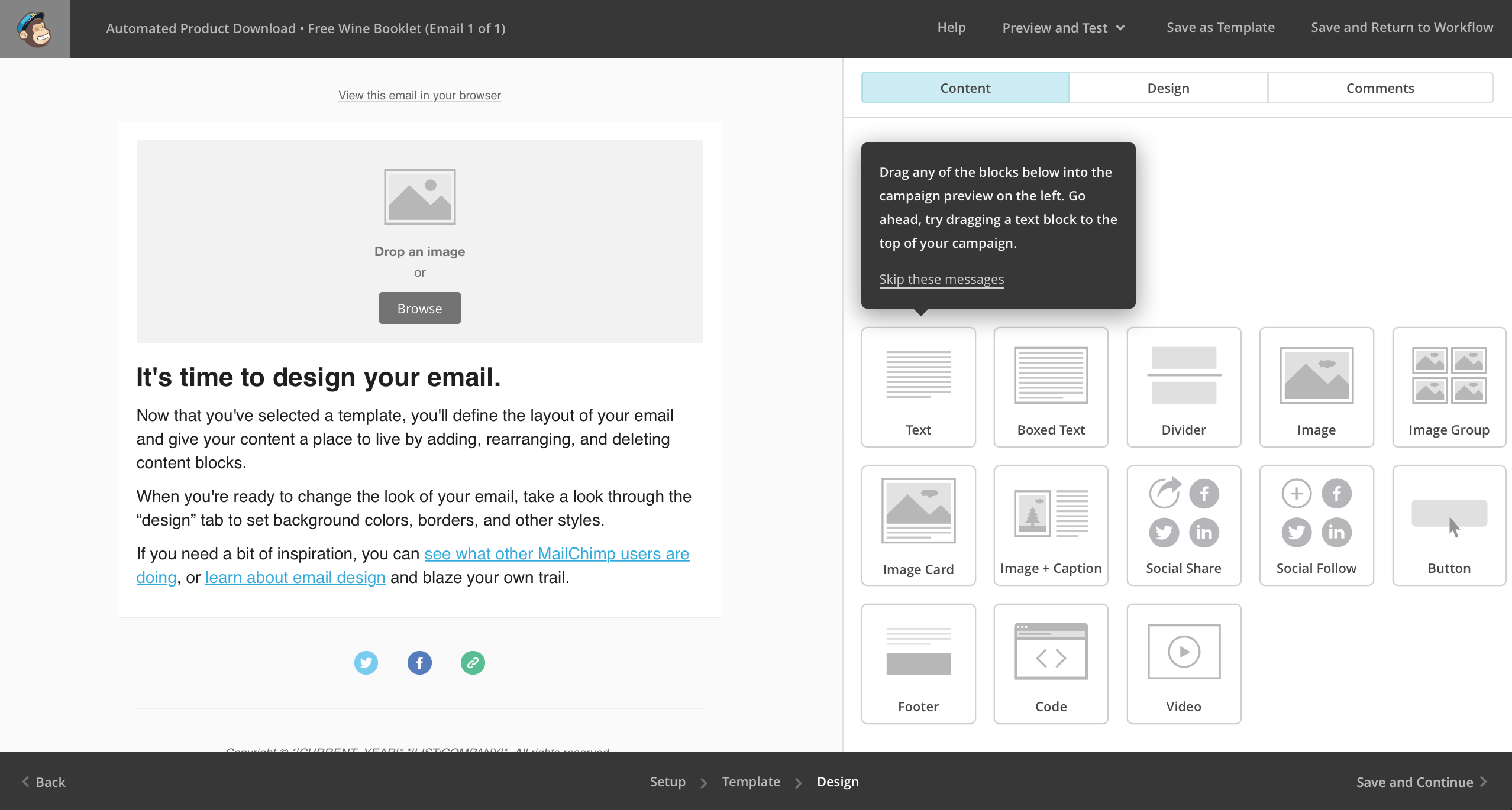 Design Email Template