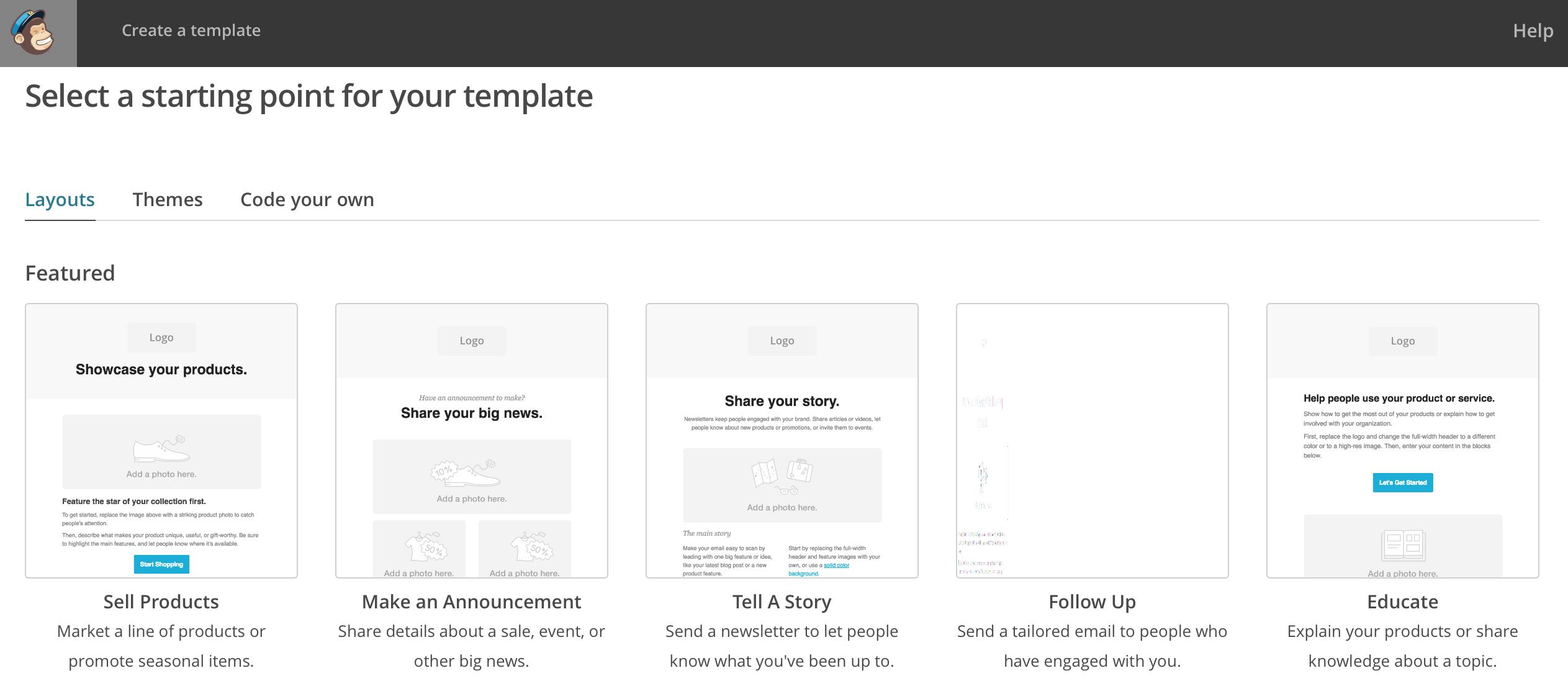 Mailchimp E-Mail Templates