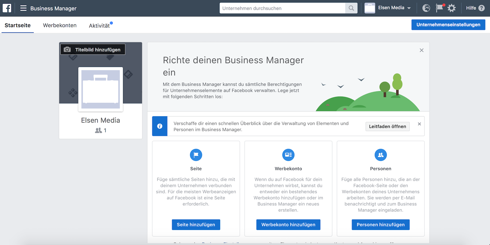 Dashboard Business Manager