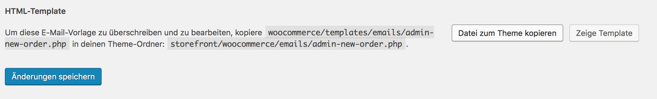 E-Mail Template Datei zum Theme kopieren