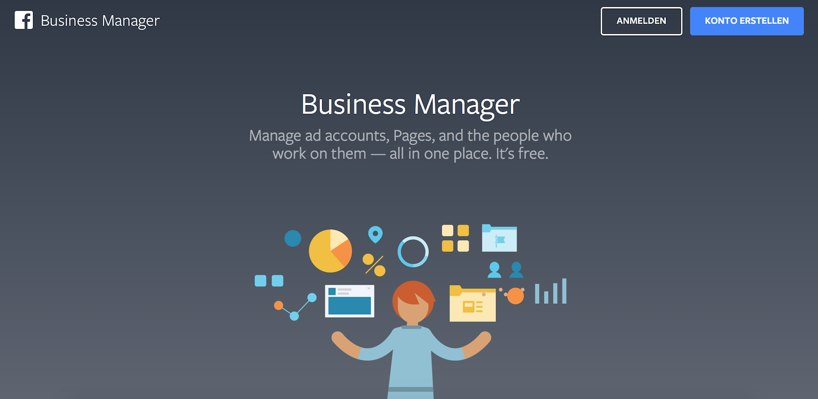 Facebook Business Manager Account anlegen